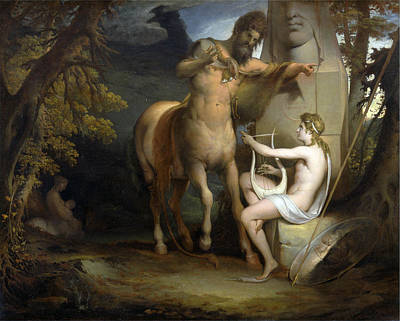 James Barry Painting - The Education Of Achilles by James Barry