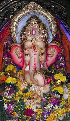 Ganesh Photograph - The Elephant God by Tim Gainey