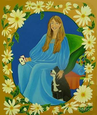Painting - The Empress by Lori Ziemba