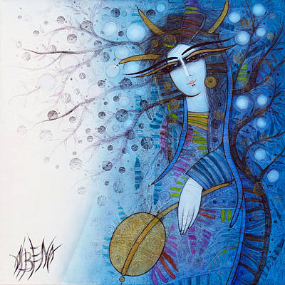 Painting - The Enchanted Forest by Albena Vatcheva