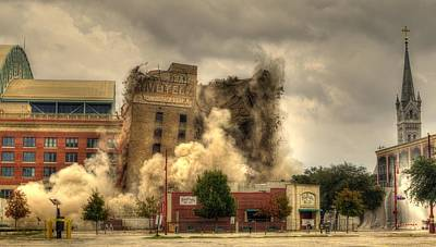Austin Photograph - The End Of An Era by David Morefield