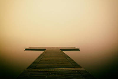 Wooden Platform Photograph - The Endless Search by Mountain Dreams