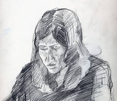 Whistler Drawing - The Essay by Whistler Kenworthy