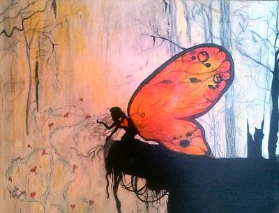 Christian Artwork Mixed Media - The Everlasting Butterfly by Michelle and Jeanne Reid
