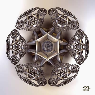 The Eye Of Harmony Print by Manny Lorenzo