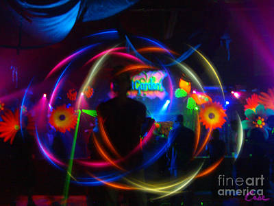 The Eye Of The Rave Print by Feile Case