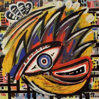 Painting - The Eye. by Paul Pulszartti