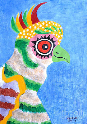 The Eye Original by Taikan Nishimoto