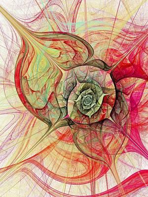 Silks Mixed Media - The Eye Within by Anastasiya Malakhova