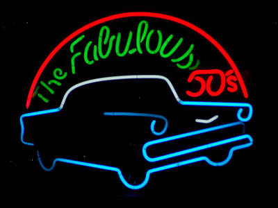 Photograph - The Fabulous 50's by Guy Ricketts