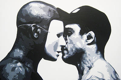 Ufc Painting - The Faceoff by Geo Thomson