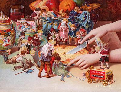 The Fairys Pie Print by American School
