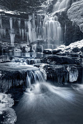 Knaresborough Photograph - The Falls At Scaleber Force by Chris Frost