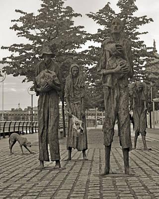 The Famine Dublin Ireland Print by Betsy Knapp