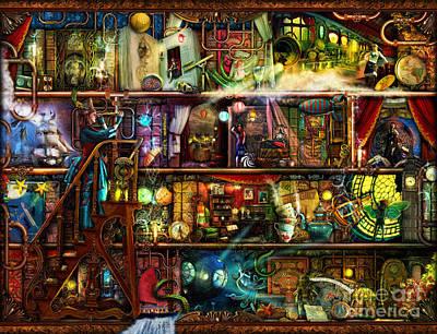 Pyramids Digital Art - The Fantastic Voyage by Aimee Stewart