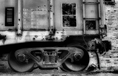Locomotive Wheels Photograph - The Feet Of Transportation by Skip Willits