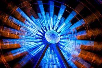 Fair Photograph - The Ferris Wheel by Mark Andrew Thomas