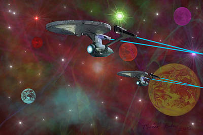 The Final Frontier Original by Michael Rucker