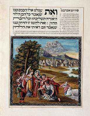Bible Photograph - The Finding Of Baby Moses by British Library