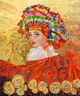 The Firebird Fabulous Print by Olga Panina