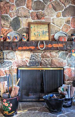 The Fireplace Print by Eti Reid