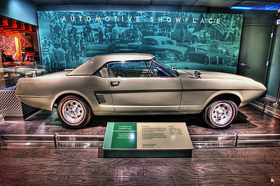 Justin Digital Art - The First Mustang  by Nicholas  Grunas