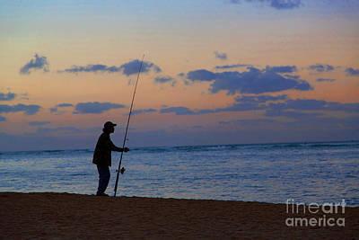 The Fisherman Print by Jon Burch Photography