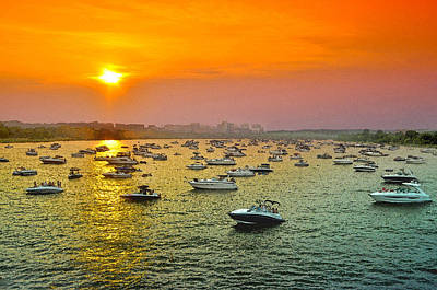 4th July Digital Art - The Fleet Of The Potomac by Steven Barrows