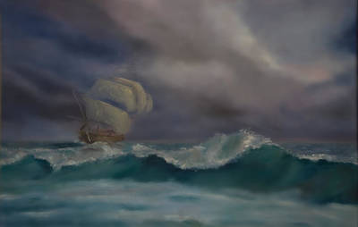 The Flying Dutchman Original by George Dadiani