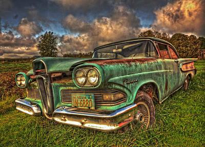 Gallery Website Photograph - The Ford Edsel Ranger by Thom Zehrfeld