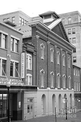 Abraham Lincoln Photograph - The Ford Theater  by Olivier Le Queinec