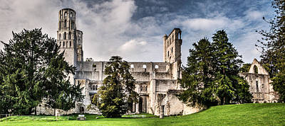 Medieval Temple Photograph - The Forgotten Abbey 2 by Weston Westmoreland