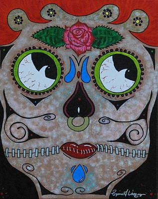 Saint-lo Painting - The Forgotten Girl by Regina  Vasquez