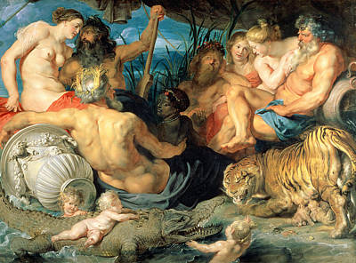 The Four Continents, 1615 Print by Peter Paul Rubens
