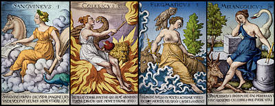 The Four Humors Of Hippocratic Medicine Print by Science Source