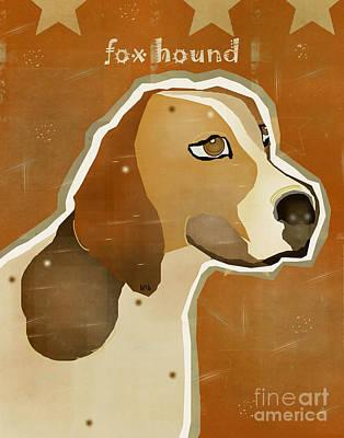 The Fox Hound  Print by Bri B
