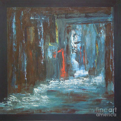 Mini Arora Abstracts Mixed Media - The Free Passage by Mini Arora