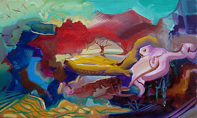 Freedom Painting - The Free Soul by Meruzhan Khachatryan
