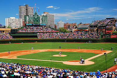The Friendly Confines Original by James Kirkikis