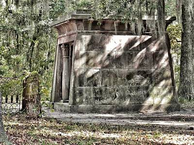 Chapel Of Ease Photograph - The Fripp Crypt by Patricia Greer