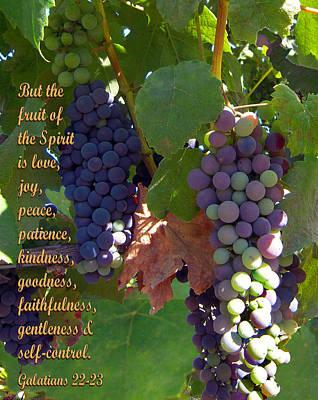 The Fruit Of The Spirit Print by Michele  Avanti