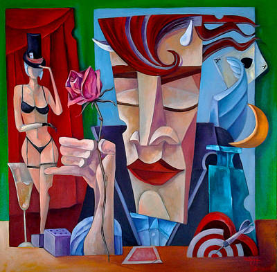 The Gambler Original by Kavich Art