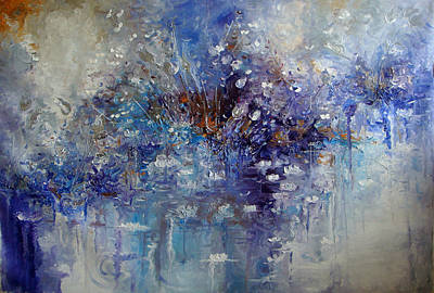The Garden Monet Didn't See Print by Hermes Delicio