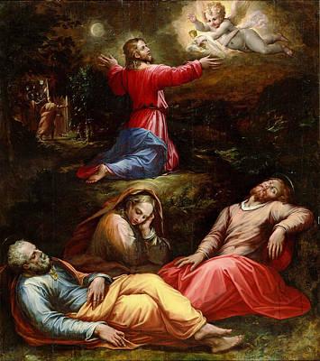 Giorgio Vasari Painting - The Garden Of Gethsemane by Giorgio Vasari