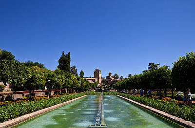 The Gardens Of The Alcazar De Los Reyes Print by Panoramic Images