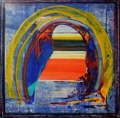 Painting - The Gateway To The Space. by Paul Pulszartti