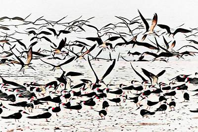 Abstract Photograph - The Gathering by Scott Cameron