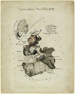 The Ghost Of Lancaster Bewitched Print by British Library