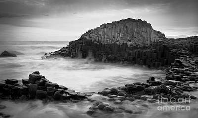The Giant's Cove Print by Inge Johnsson