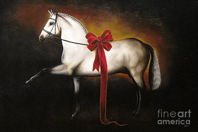 Beer Oil Painting - The Gift Horse by Tia